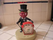 Vintage Heinz 57 Clock Mr. Tomato Head