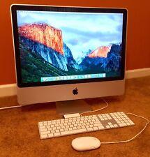 "Apple iMac 24"" Desktop Computer Mid-2007 Core 2 Duo 2.4GHz/240GB SSD/6GB RAM"