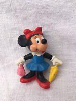 Disney Minnie Mouse Minny Maus Figur von Bully 1980er