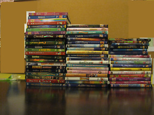 DVD's - All in Excellent Condition with Tall Plastic Case and Inside Paper