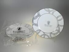 Waterford China Halo Bread & Butter Plates Set of 2 NEW WITH TAGS