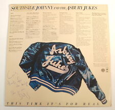 Steve Van Zandt Signed Southside Johnny & The Jukes This Time It's For Real LP