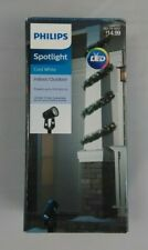 Philips Spotlight Projects up to 20ft Indoor/Outdoor Cool White LED