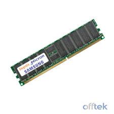 Memoria (RAM) de ordenador DIMM 184-pin Velocidad del bus del sistema PC2100 (DDR-266)