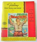 Catalog 1939 South Bend Bait Fishing & Tackle- 128 Pages