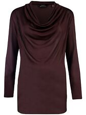 TED BAKER Women's Purple DAPHINE Cowl Neck Sweater Top Blouse ~ Sz 2 US 6 ~ NEW