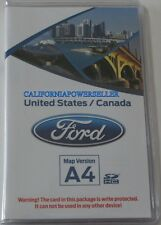 A4 Ford Lincoln Fusion Edge Explorer F150 GPS Navigation SD CARD Map update