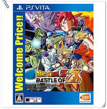 PSV Dragon Ball Z: Battle of Z DBZ JAP SONY VITA Bandai Namco Fighting Games