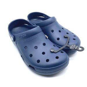 New Crocs Coast Clog Men's Navy Blue 204151-410 Men's Size 11