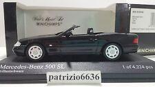 Minichamps 1/43 Mercedes-Benz 500 Sl 1999 Black Art. 400033030