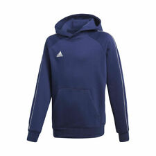 adidas Core 18 Hoody Hoodie Kapuzenpullover marine blau Kinder Gr.140 152 164