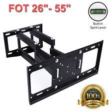 Heavy Duty TV Wall Mount Bracket Swivel 26 32 40 43 49 50 55 inch UK Stock