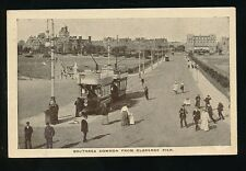 Hampshire Hants SOUTHSEA Common from Clarence Pier Tram #12 c1900s? PPC