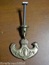 Pomello maniglia per mobile STILE ANTICO cassetto in bronzo ottone pieghevole 1