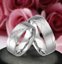 2 Echt Silber 925 Trauringe Eheringe Verlobungsringe , Gravur Gratis , J361