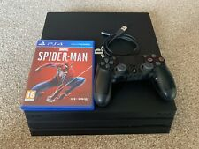PlayStation 4 Pro Console (1TB) (Series 7000) + Marvel's Spider-Man Bundle