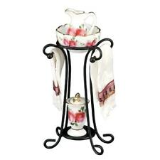 MINIATURE DOLLHOUSE 1:12 SCALE REUTTER COUNTRY ROSE WASH STAND SET - 1.749/6