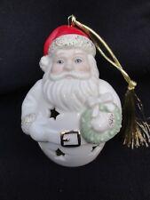 Lenox Porcelain Santa Claus - Hanging Ornament