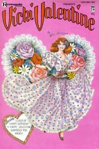 VICKI VALENTINE #3 [Bill Woggon, Paper Dolls]