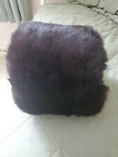 Vintage Black Fur Muff
