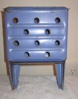 Vintage Beautiful Blue Mop Bucket WRINGER no. 100S/ Mechanism Works