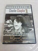 """FILM DVD CHARLIE CHAPLIN 1 """"LE GRANDI COMICHE - I MIGLIORI CORTOMETRAGGI"""" CINEMA"""