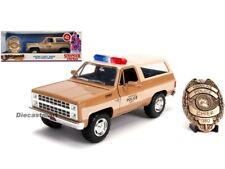 Jada 1:24 Hollywood Rides Hopper's Chevrolet Blazer Stranger Things 31111 Model