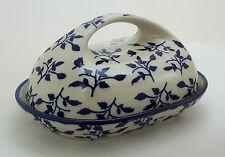 Bunzlauer Keramik Butterdose, Butterglocke für 250g Butter, (M077-LISK)
