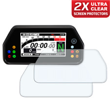 2 x YAMAHA R1 / R1M 2015+ Dashboard Screen Protector: Ultra-Clear
