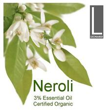 Neroli 3 Pure Essential Oil Certified Organic 100ml Aromatherapy Grade