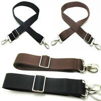Adjustable Nylon Shoulder Bag Belt Replacement Solid Strap Crossbody Handbag