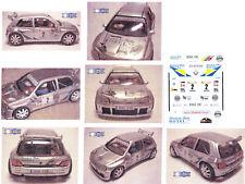Decals 1/43e Renault Clio Maxi Bautista