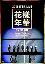 Bangtan Boys 2015 BTS Live In the Mood for Love on stage Japan Edition 2 DVD