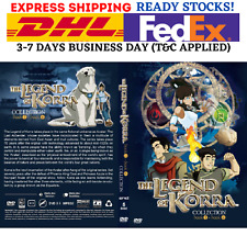 Anime DVD Avatar The Legend Of Korra Book 1 2 3 4 (Vol. 1-52 End) English Audio