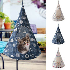 Pet Cat Tent Hammock Cat Removable Hanging House Bed Cone Shape Breathable