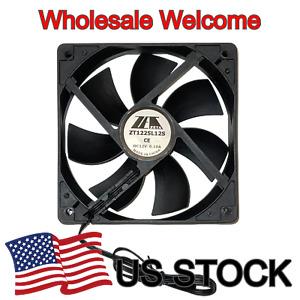 ZETA 120mm 9dBA Super Quiet PC Case Cooling Fan 3pin 12V 0.18A 120*120*25