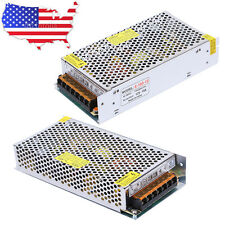 2X AC TO DC 12V 5A 60W Regulated Switching Power Supply Adapter for LED Strip