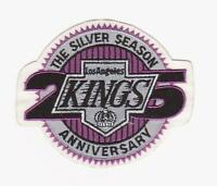 NHL LOS ANGELES KINGS 25th ANNIVERSARY PATCH LA KING JERSEY PATCH