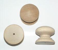 Confezione da 10 fori in legno di faggio Manopole Maniglie 40mm a 40 bvkd