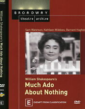 MUCH ADO ABOUT NOTHING dvd SAM WATERSON Broadway Theatre Archive NEW