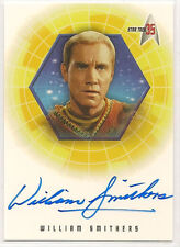 Star Trek 35th Anniversary TOS Autograph Card A27 William Smithers Merrick