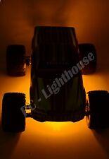 "RC LED Underbody Light Strips 2 x 6"" Super bright Lights Amber"