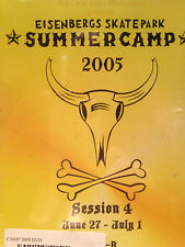 Eisenbergs Skatepark CAMP 2005, SESSION 4, SKATEBOARD, ROLLERBLADE, BMX dvd, new