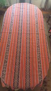 "Peru Andean Inca Cotton Table Cloth   98"" X 50"""