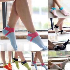 Womens Cotton Toe Socks Pure Sports Five Finger Socks Breathable 1 pairs_guJ_hg
