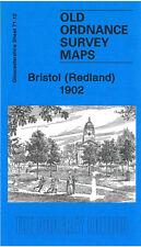 OLD ORDNANCE SURVEY MAP BRISTOL REDLAND 1902