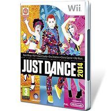 Nintendo Wii PAL version Just Dance 2014