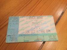 Kiss 6th October 1996 USAir Arena Ticket Reunion Tour Stub
