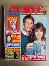 GENTE n°16 1984 Richard Chamberlain Rachel Ward - Inserto Elena di Savoia  [D42]
