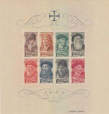 PORTUGAL: 1945 Portuguese Navigators miniature sheet SG MS976a mint